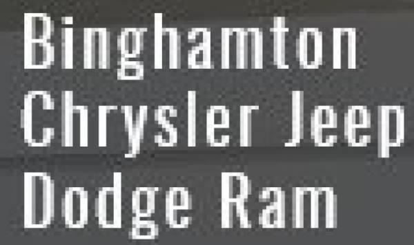 Binghamton Chrysler Jeep Dodge